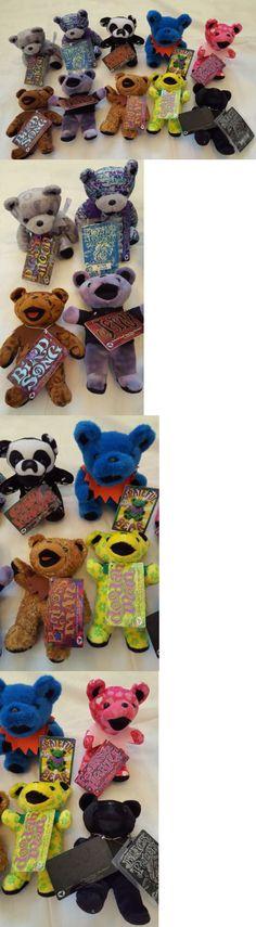 Grateful Dead 1620: Liquid Blue Vintage Grateful Dead Bears Lot Of 10 -> BUY IT NOW ONLY: $99 on eBay!