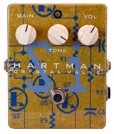 Hartman Electronics Silicon Crystal Valve Fuzz Guitar Effects Pedal