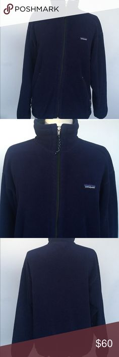 aea58ac4dc139 Patagonia Fleece Vintage Patagonia Zip up Fleece. Made in USA.