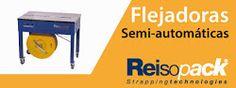 Flejadoras semi-automáticas. Otro banner de categoría de producto.