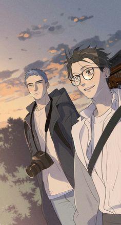 Manga Anime, Manga Boy, Manhwa Manga, Otaku Anime, Anime Art, Manga Cute, Cute Anime Guys, Cute Anime Couples, Anime Love