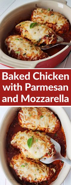 Instead of wasting your time in finding the right Low Carb recipe which can serve a purpose of a family meal too I have made Mozzarella chicken parmesan casserole dinner recipe for keto lovers which you can easily make in 15 minutes or less. Baked Parmesan Crusted Chicken, Chicken Parmesan Casserole, Mozzarella Chicken, Chicken Parmesan Recipes, Skinnytaste Chicken Parmesan, Recipe For Chicken, Baked Chicken Marinara, Chicken Potatoes, Poulet Keto