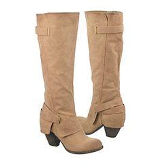 "Fergalicious® ""Longshot"" Strapped Knee-High Boot, $66.75 at Bonton. I ORDERED THESE!"