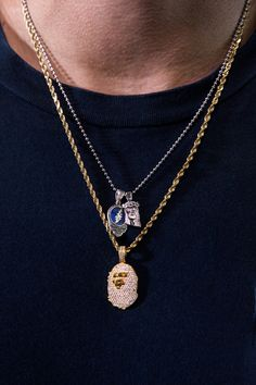 Nano Jesus chain BAPE