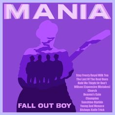 #falloutboy #MANIA #music #fob #music #alternativecover #albumcover #album