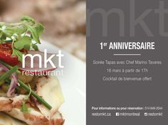 MKT 1st anniversary  March 16, 2016 ******** 2044 Metcalfe Street Downtown Montreal ******** Reservation:(514)849-2044    #montreal #mtl #mtlblog #downtownmtl #downtownmontreal #centrevillemtl #centrevillemontreal #montrealpromos #mtlevents #montrealevents #foodporn #gastronomie #gastronomy