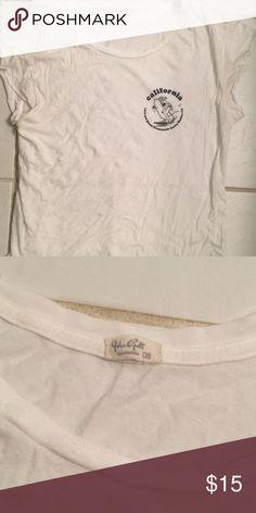 Brandy Melville flowy t-shirt California Brandy t-shirt full length Brandy Melville Tops Tees - Short Sleeve