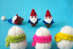 Gnomes vs. Snowmen by Anna Hrachovec