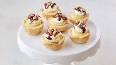 These bite-size banoffee tarts are a delicious sweet treat for any summer party.