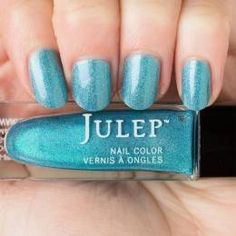 Julep - Hallie (It Girl) bay blue liquid holographic (from the July 2015 Holo Days Mystery Box)