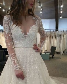 """The """"Hayley"""" gown in Ivory"""