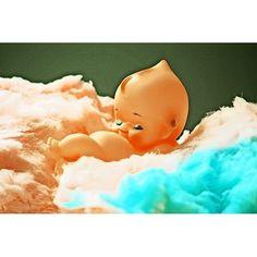 Cotton Candy Dreams Vintage Kewpie Baby Doll Art Print By Boopsiedaisy