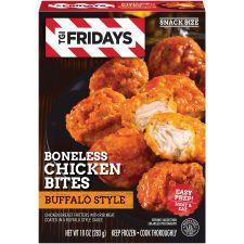 I Friday's Buffalo Style Boneless Chicken Bites, 10 oz Box Breaded Chicken, Boneless Chicken, Tandoori Chicken, Frozen Appetizers, Yummy Appetizers, Fridays Menu, Tgi Fridays, Microwave Dinners, Potato Skins
