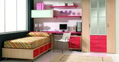 organized teen room