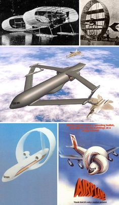 Futuristic Flying: Brilliant Prototype & Concept Airplanes