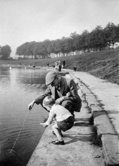 Inverleith Pond  -  around 1957 #stockbridgeedinburgh #stockbridge #edinburgh #scotland