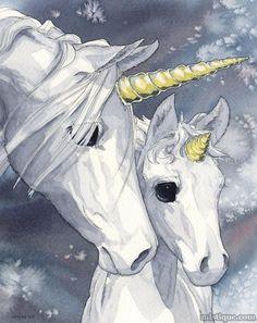 Glass Ghosts by MistiqueStudio on DeviantArt - Unicorns - Pferde Unicorn And Fairies, Unicorn Fantasy, Unicorns And Mermaids, Unicorn Horse, Baby Unicorn, Unicorn Art, Magical Unicorn, Fantasy Art, Pegasus