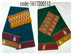 "Grab this Handloom ""Narayanpet sarees"" stood out in simple design in contemporary shades with ""ikat"" blouse Mrp- Rs 1010/  (for trade inquiries please contact our whatsapp no  Single / Retail Customer ...please contact 8099433433 B2B/Resellers/Bulk buyers...please contact 8801302000)"