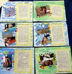 Al rientro a scuola,  facciamo trovare, appese alla porta,  le  cartoline che ci sono  state inviate durante le vacanze.        P...