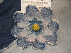Crafts with Denim | When did you start crafting?      Think of how you could use this idea for a denim quilt
