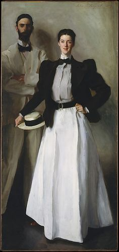 Mr. and Mrs. I. N. Phelps Stokes Artist: John Singer Sargent (American, Florence 1856–1925 London) Date: 1897 Medium: Oil on canvas
