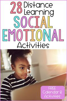 Social-emotional activities will support distance learning at home. Use these ideas to support your SEL lessons online, at home, and in the classroom. Social Emotional Activities, Respect Activities, Social Emotional Development, Learning Activities, Home Learning, Emotions Activities, Toddler Learning, Stem Activities, Educational Activities