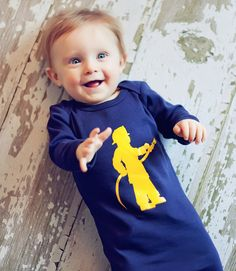 Little Fireman Infant Long Sleeved Sleep Sack by Nostalgic Graphic Tees, available on Etsy. Makes a great baby shower gift!