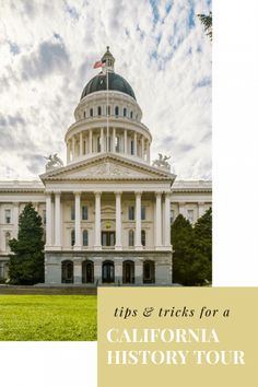 Visit California's capitol, Sacramento, with the whole family as you explore an educational history tour of the Golden State. California With Kids, California History, California Vacation, Visit California, Northern California, Sacramento State, Sacramento California, Beach Trip, Vacation Trips