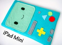Adventure Time BMO iPad Mini case - Made in Mtl!