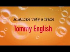 Angličtina- mluvené anglické fráze na poslech- pro začátečníky - YouTube English, Education, School, Youtube, English Language, Educational Illustrations, Learning, Youtube Movies, Studying