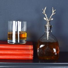 Stag Whisky Decanter - ultimate man cave