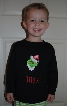 The Grinch Christmas Shirt. $23.00, via Etsy.