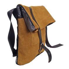 Rucksack aus recyceltem Leder von ichichich bei Kult-Design-Unikate