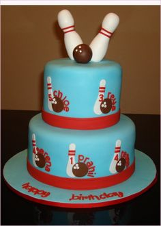 bowling birthday cake - Google Search