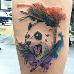 Este angry panda http://tatuagens247.blogspot.com/2016/08/perfeitamente-panda-bonito-tatuagens.html