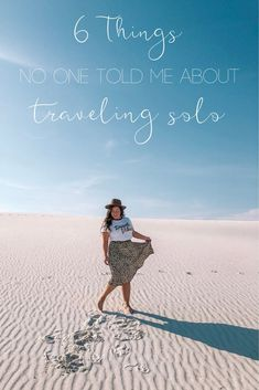 Ever wonder what it's like to actually travel alone? I discovered a few things about it and about myself! #travelblogger #solotravel