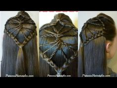 Cute Braided Hairstyle! The Twisted Wheel Hair Tutorial | Hairstyles For Girls - Princess Hairstyles