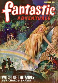 Robert Gibson Jones : Fantastic Adventures, Oct.195?