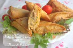bricks aux pommes de terre et thon / entrée du ramadan - Amour de cuisine
