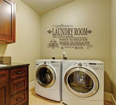Items similar to Laundry Room Decal -Small Decal - Laundry Vinyl Wall Decal - Laundry Room Decor - Laundry Room 24 hour on Etsy Laundry Room Quotes, Laundry Room Decals, Mudroom Laundry Room, Laundry Decor, Vinyl Wall Decals, Frame Wall Decor, Interior And Exterior, Interior Design, Decoration