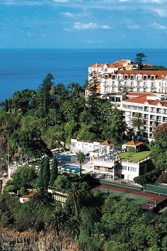 Belmont Reid's Palace is a true grand dame hotel on the Portuguese island of Madeira. #Jetsetter