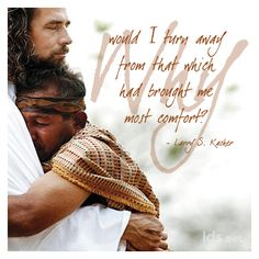 """Why would I turn away from that which had brought me most comfort? #ElderKacher #LDSConf"