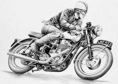 Motoblogn: Harry Miller - Fine Artist