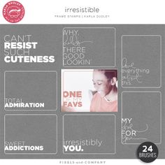 Irresistible | the frame stamps