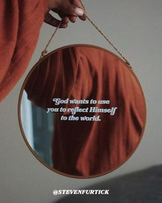 My Maker Is My Mirror - Elevation Church Steven Furtick Quotes, The Great I Am, My Mirror, Mirrors, In Christ Alone, Thank You Jesus, Follow Jesus, God Prayer, God Loves Me