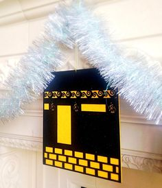 A beautiful large Kaba felt hanging for Eid and Hajj occasions. This Kaba hanging is durable, reusable and double sided for a perfect view! Kaba hanging measures x 1 Kaba hanging per package Islamic Celebrations, Eid Party, Eid Al Adha, Ramadan Decorations, Christmas Gifts, Holiday, Balloons, Projects To Try, Creative