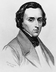 Frederic Chopin (1810-1849) influential in the late Romantic period.
