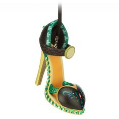 Step up your preparations for the holidays with this Anna Shoe Ornament. Crafted by Disney artist Costa Alavezos, this detailed resin shoe is inspired by the Frozen character's costume, and sparkles with glitter and encrusted jewels. Disney Shoe Ornaments, Frozen Ornaments, Disney Christmas Ornaments, Frozen Christmas, Christmas Decorations, Peanuts Christmas, Diy Ornaments, Hallmark Ornaments, Christmas Treats