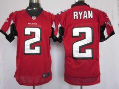 Pred Ryan Mens Elite NFL Atlanta Falcons #2 Jersey