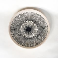 michelle quan eye platter @ the future perfect. Perfect Eyes, Gili Trawangan, Color Shapes, Colour, Art Journal Pages, Ceramic Plates, Decorative Objects, Stoneware, Illustration Art
